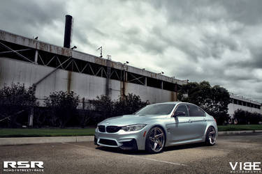 "2015 BMW M3 | '15 M3 on RSR 20"" Wheels - Cloudy Skies"