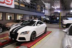 Audi TTRS - White