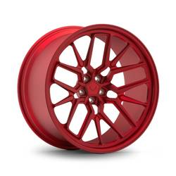 "VOSSEN ML-X3 custom wheels, brushed clear, size 19x9.5"" front and 20x10.5"" rear"