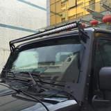 Jeep Wrangler Upper Windshield Mounting Brackets