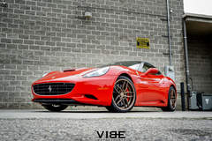 "Ferrari California on 20"" Ferrada F8 FR5 Wheels - Italian Stunner"