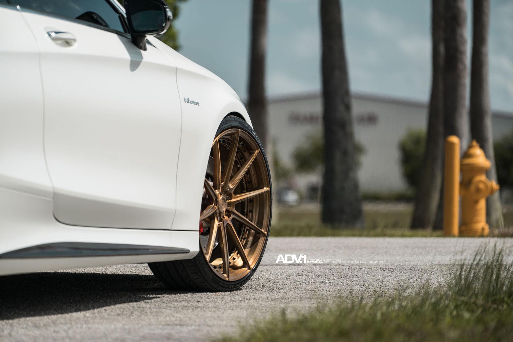 2015 Mercedes-Benz S-Class | ADV.1 Wheels Mercedes Benz S63 AMG Coupe