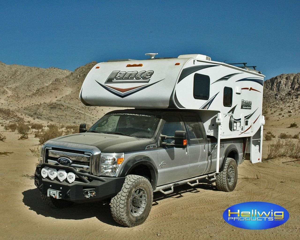 2012 Ford F-250 Super Duty | Hellwig Super Duty