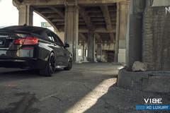 """BMW 535i on 20"""" XO Luxury Milan Wheels - Artsy Shot"""