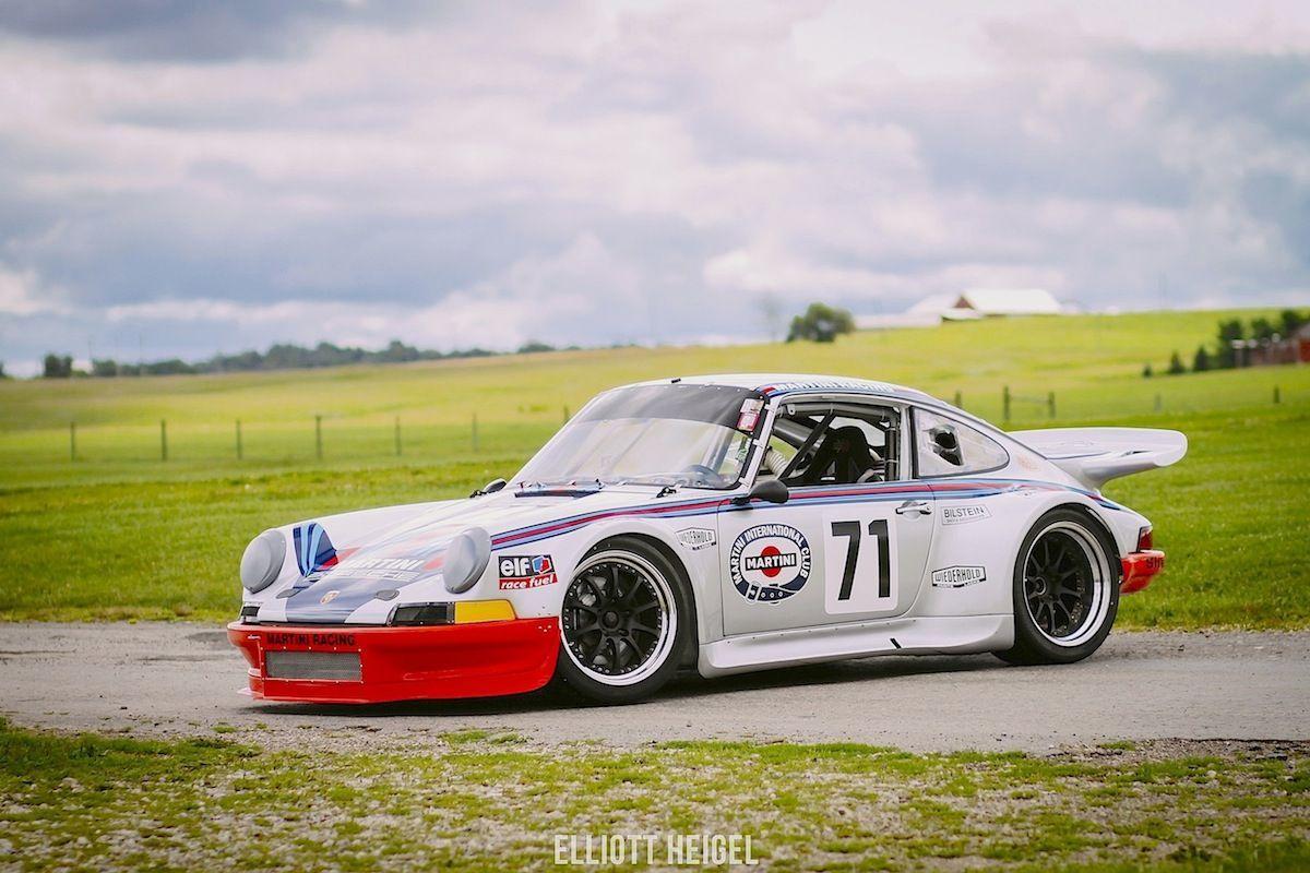 1973 Porsche 911 | Stan Crawford's 1973 Porsche 911 RSR on Forgeline ZX3R Wheels