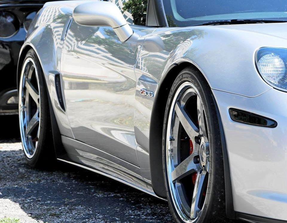 2007 Chevrolet Corvette Z06 | Joel Little's 600HP C6 Corvette Z06 on Forgeline CF3C Concave Wheels