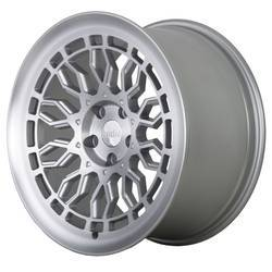 Radi8 R8A10 - Matte Silver / Machined Face