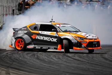 Infinity ECU-Tuned Hankook/Scion Drift tC - Track Racing