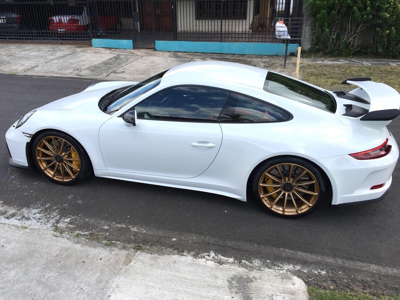 2018 Porsche 911 | Enrique Thompson's Porsche 991 GT3 on Forgeline One Piece Forged Monoblock GT1 Wheels