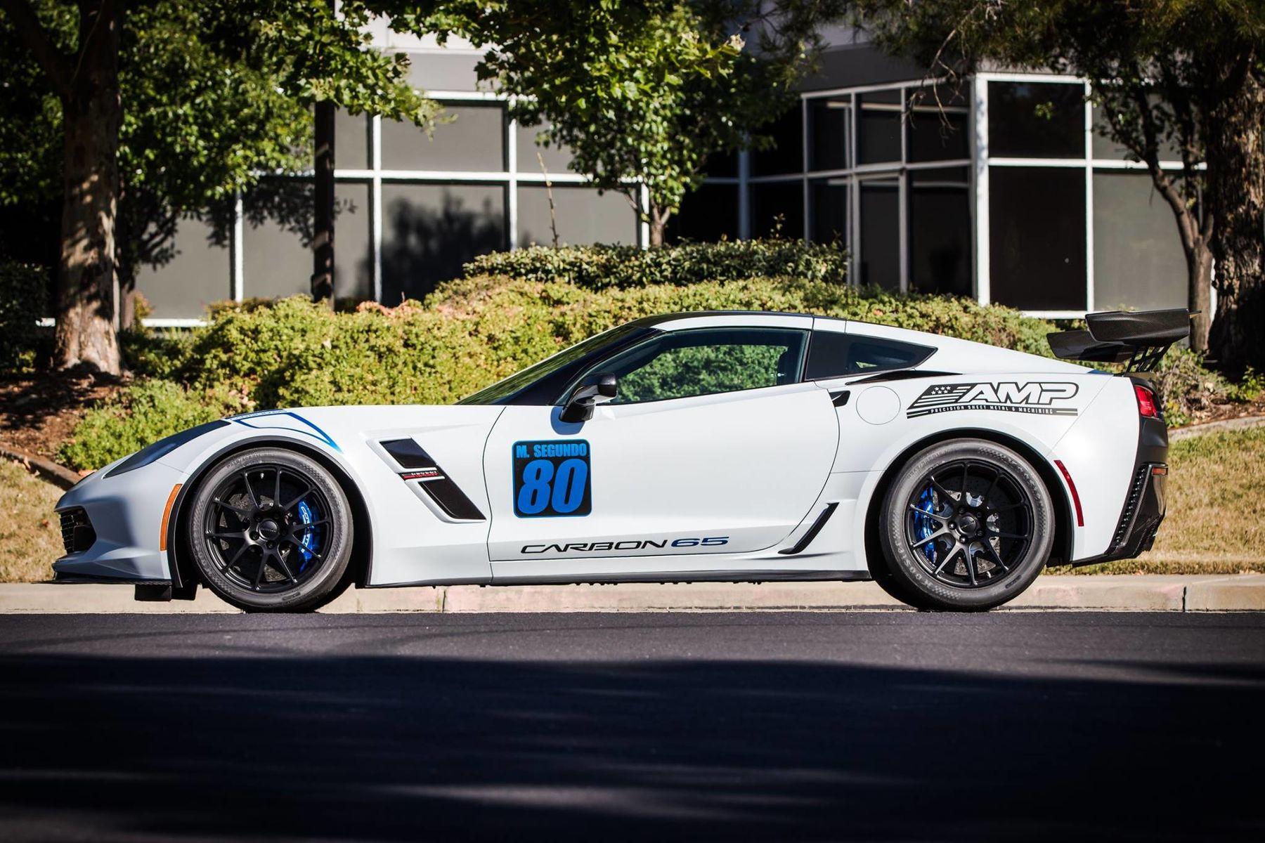 2018 Chevrolet Corvette Z06 | Mike's C7 Corvette Grand Sport on Forgeline One Piece Forged Monoblock GA1R Wheels