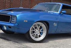 V8 Speed & Resto Shop's ZR9 1969 Camaro on Forgeline GA3 Wheels