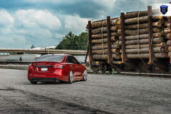 Custom Nissan Maxima - Rear Shot