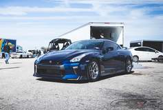 "T1 Race Development's 2017 Nissan GT-R ""Shop Car"" on Forgeline One Piece Forged Monoblock GS1R Wheels"