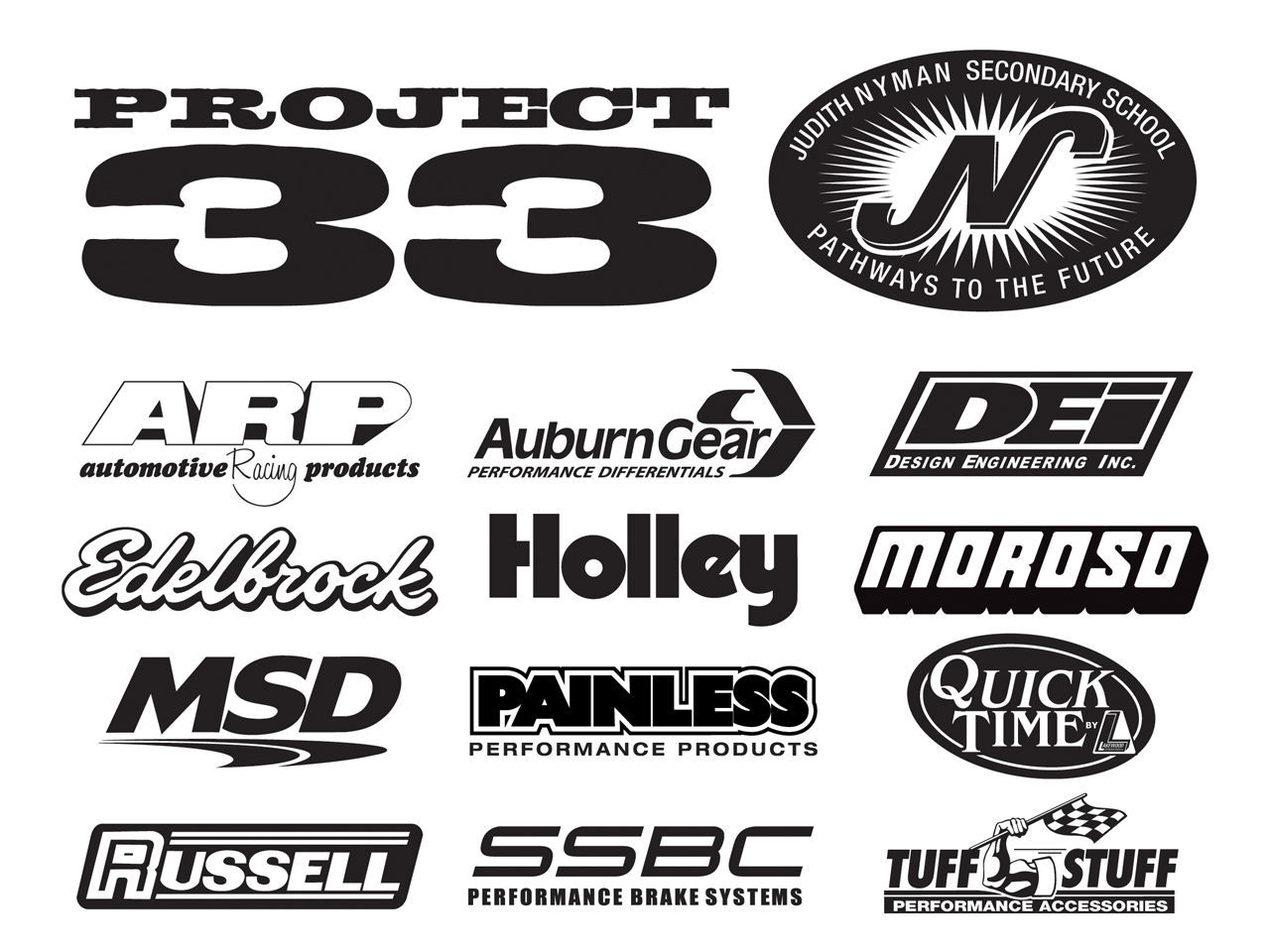 | Project 33 Sponsors