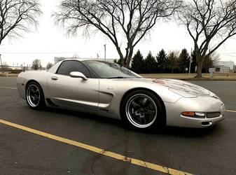 2004 Chevrolet Corvette Z06 | Dave Schardt's 487whp C5 Corvette Z06 on Forgeline GF3 Wheels