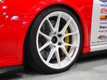 BBi Autosport's 997.1 Porsche 911 Turbo on Forgeline 1pc Forged Monoblock GA1R Open Lug Wheels