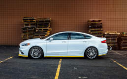 2017 Ford Fusion Sport - Side View