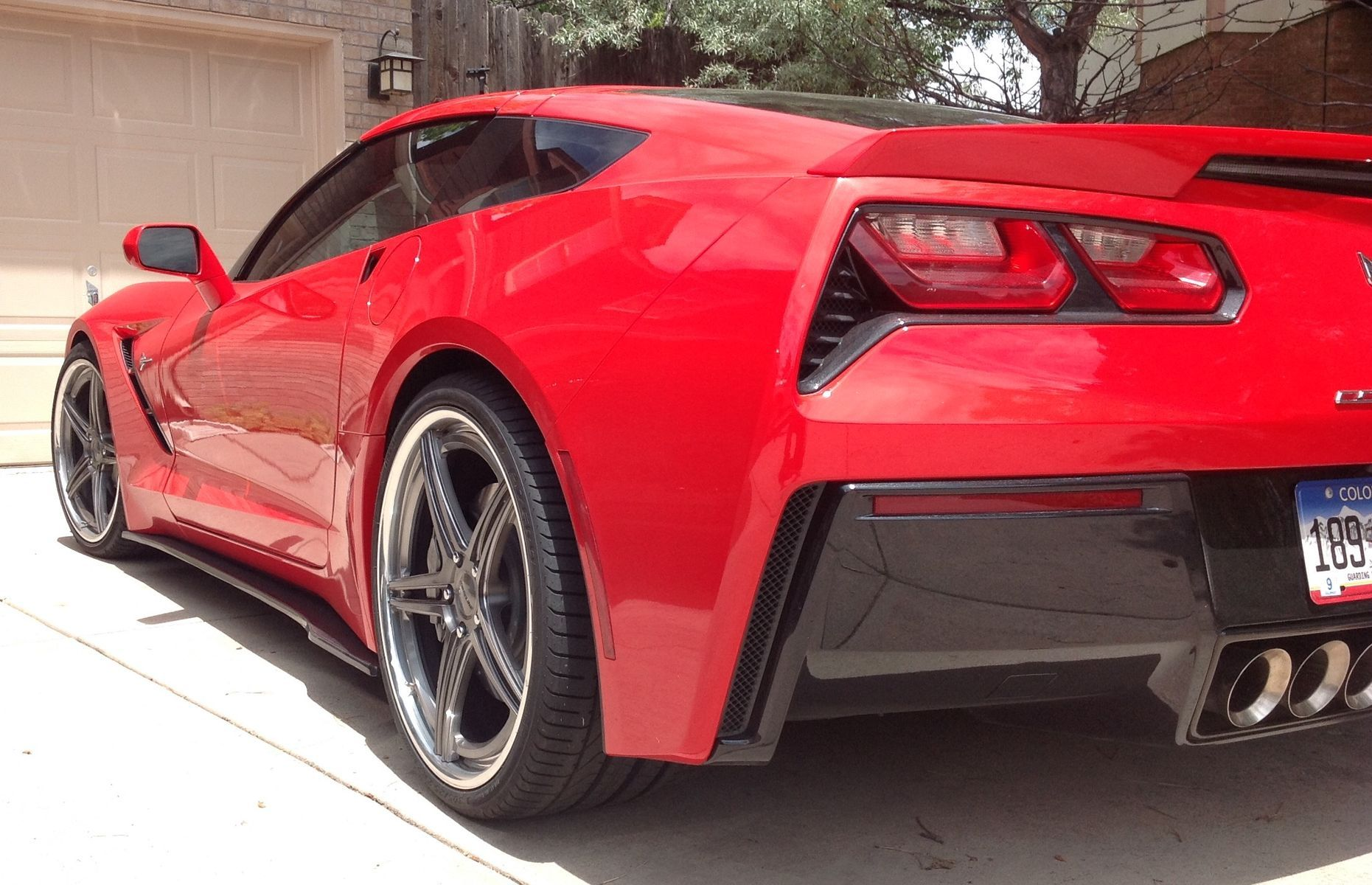 2014 Chevrolet Corvette | C7 Corvette on Forgeline SC3C-SL Wheels
