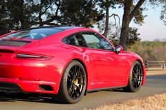 Jim Shannon's 991 Porsche 911 GTS on Forgeline One Piece Forged Monoblock VX1R Wheels