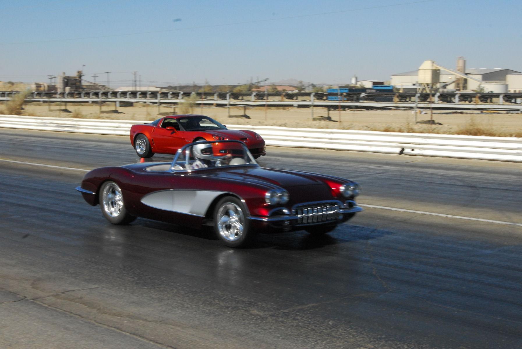 1958 Chevrolet Corvette | Casteels Father and Son Race