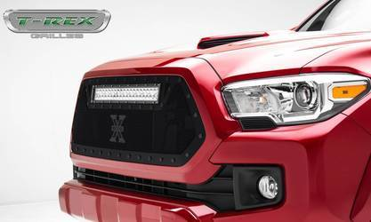 Toyota Tacoma Stealth Torch Grille Insert 20 LED Light - All Black
