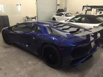 Beautiful Lamborghini at XPEL HOUSTON