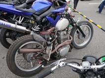 Honda Ratbike Bobber