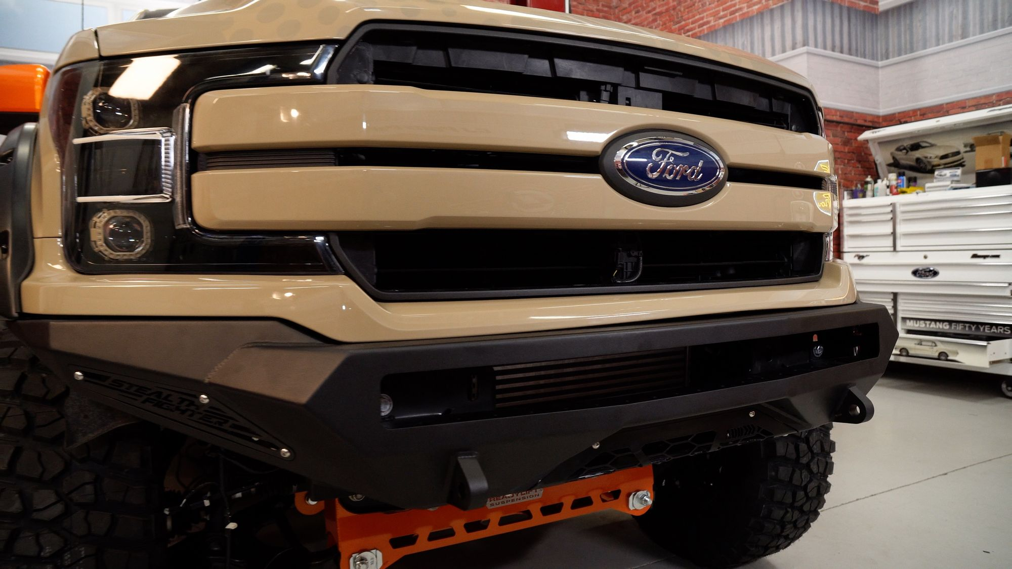 2018 Ford F-150 Lariat SuperCrew by CJ Pony Parts - Front