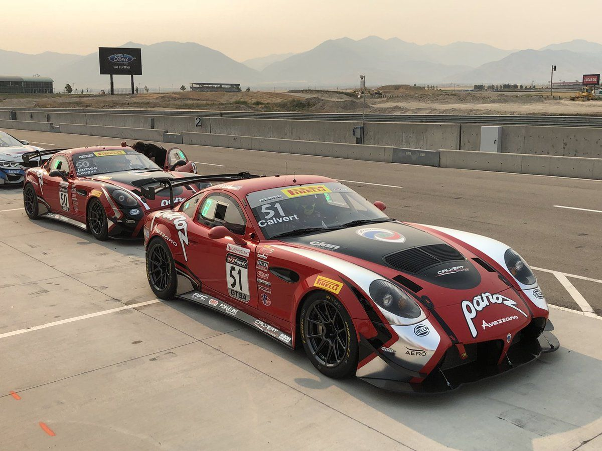 2018 Panoz  | Panoz Scores Big at Pirelli World Challenge Utah