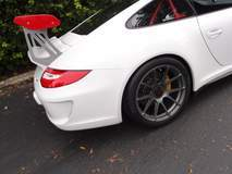 Sharkwerks Porsche GT3RS on Center Locking Forgeline One Piece Forged Monoblock GA1R Wheels