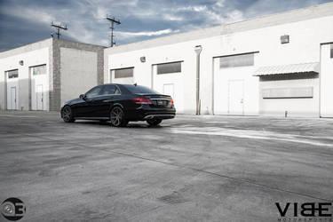 Mercedes E350 on Vertini Dynasty - Photo Shoot