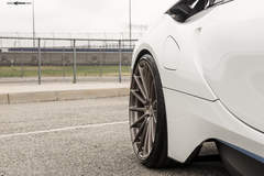 "BMW i8 on 22"" Avant Garde's - Spokes"