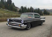 Robbie's Pro-Touring '57 Chevy Bel Air on Forgeline RB3C Wheels