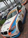 The Team TGM #64 BMW 328i on Forgeline GA3R wheels