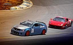CTS V Takes on Ferrari