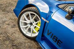 """Subaru WRX STI on 18"""" Vorsteiner V-FF 108 Wheels - Clean Fitment"""