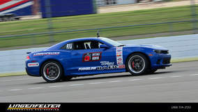 Lingenfelter L28 Camaro on Forgeline GA3 Wheels Returns to OUSCI