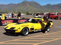 Chris Smith Wins Pro Class at Goodguys Spring Nationals in the 48 Hour Corvette on Forgeline GA3R Wheels