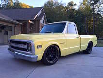 Corey Ivey's Pro-Touring '69 Chevy C10 on Forgeline GA3 Wheels