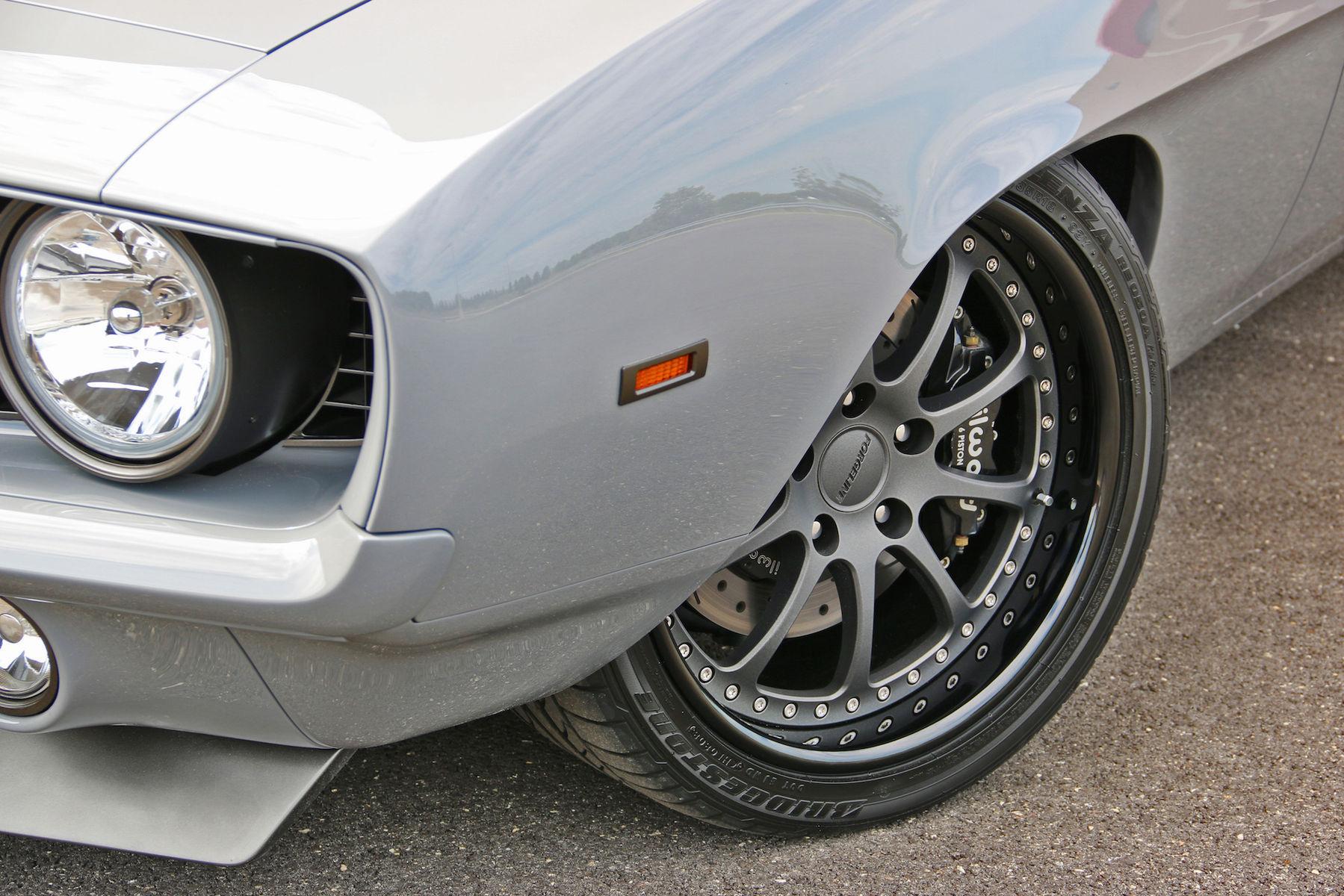 "1969 Chevrolet Camaro   Kip Murphy's Roadster Shop-Built ""Wraith"