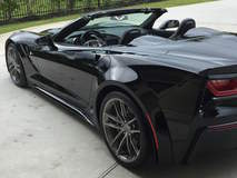Keith Traylor's 830HP Widebody C7 Corvette Convertible on Forgeline One Piece Forged Monoblock AR1 Wheels