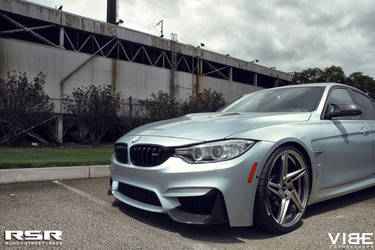 "2015 BMW M3 | '15 M3 on RSR 20"" Wheels - Up Close"