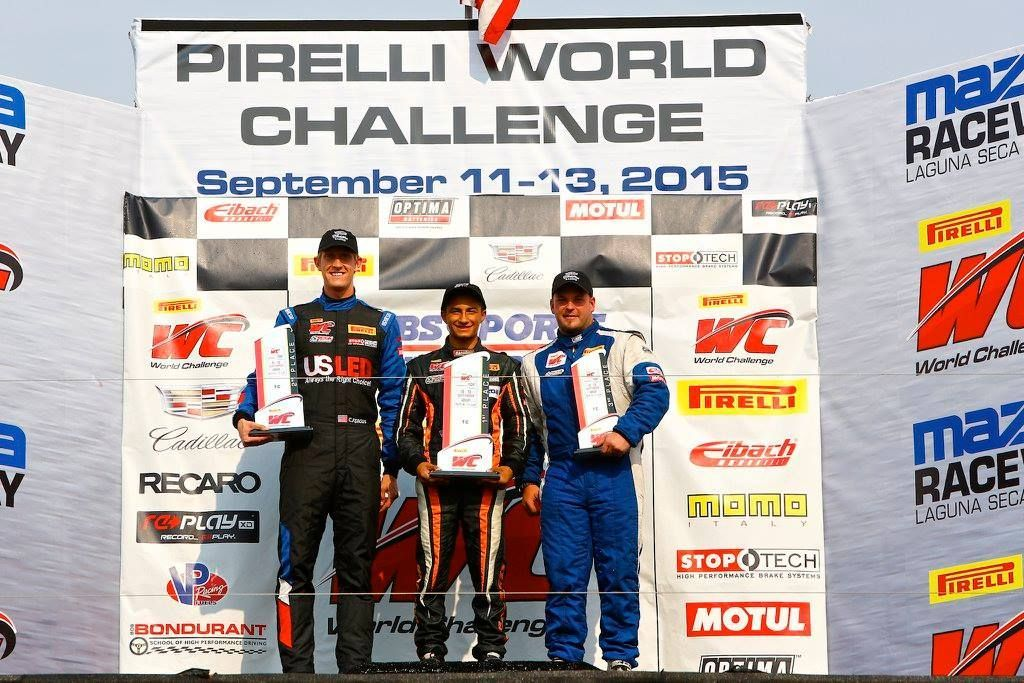 Porsche Cayman | 2015 Pirelli World Challenge at Laguna Seca