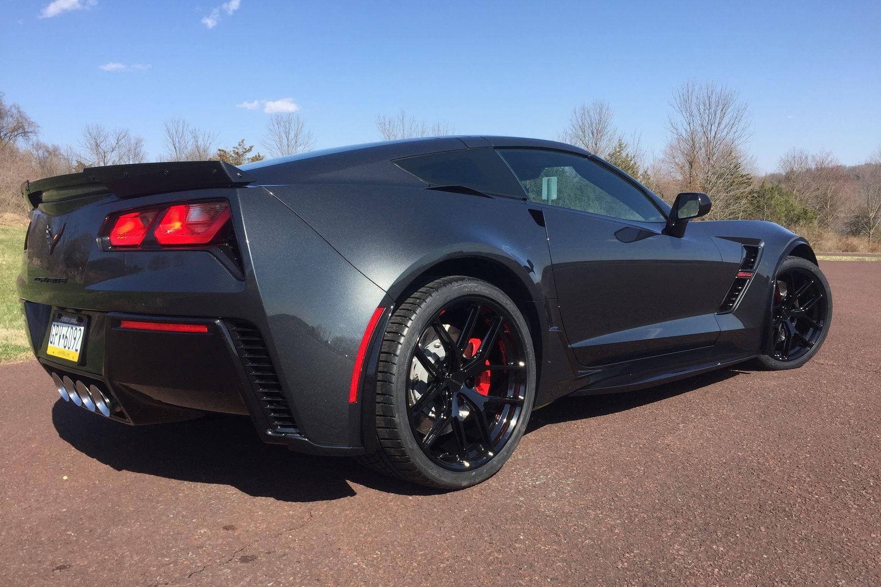 2019 Chevrolet Corvette   Ron Alfor's C7 Corvette Grand Sport on Forgeline One Piece Forged Monoblock VX1R Wheels