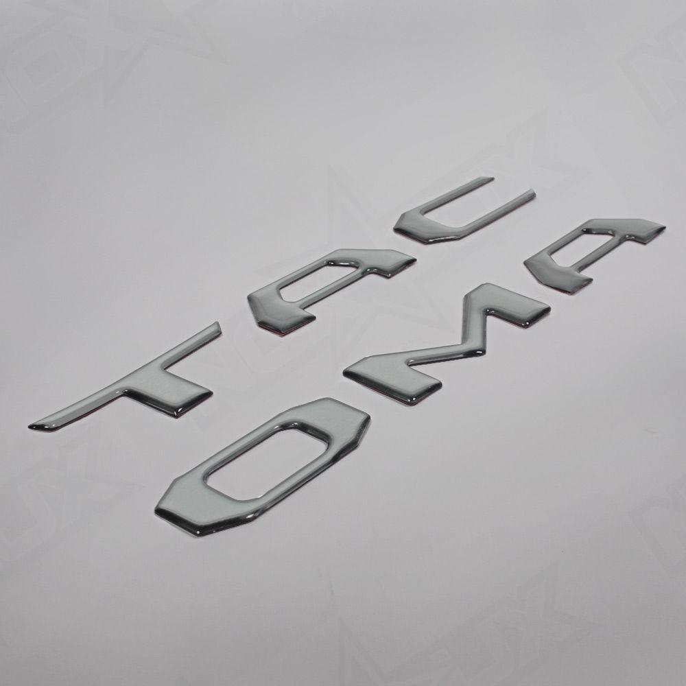 2016 Toyota Tacoma | 2016 Toyota Tacoma Tailgate Brushed Aluminum Logo Insert