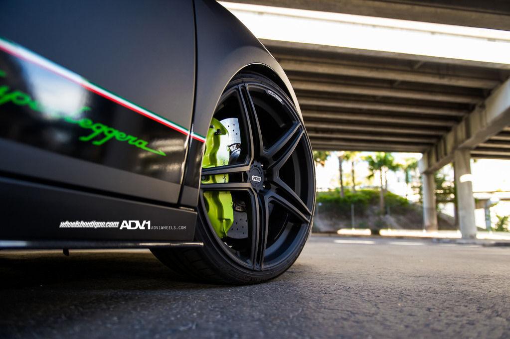 Lamborghini Gallardo | Matte Black Gallardo Superleggera on ADV1