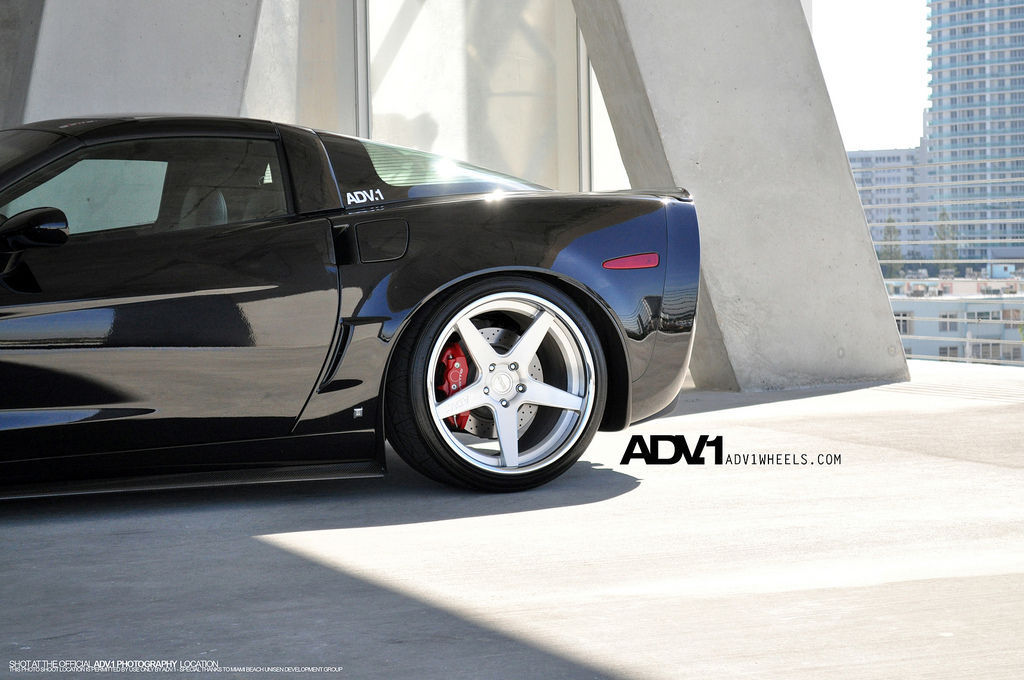 Chevrolet Corvette | Corvette C6 Z06 on ADV5 Deep Concave