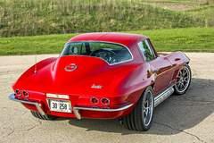 Paul's Schwartz Performance '67 Corvette Sting Ray Widebody on Forgeline GA3C Wheels