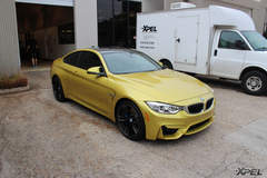 BMW M4 with XPEL ULTIMATE covering entire car