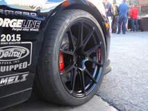 Camaro SS 1LE on Forgeline GA1R Open Lug Cap Edition Wheels